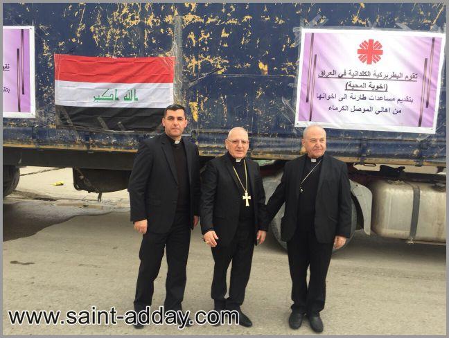 احتفالية افتتاح كنيسة مار بولص في الموصل ... هل ستصبح تقليداً كنسياً ام انها بدعة /Husam Sami 023
