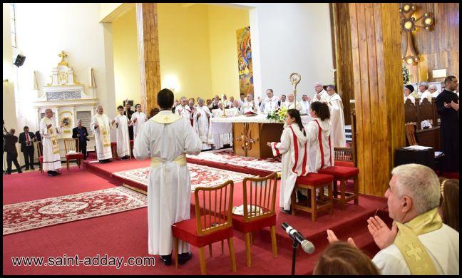 رسامة مطرانين جديدين للكنيسة الكلدانية 065