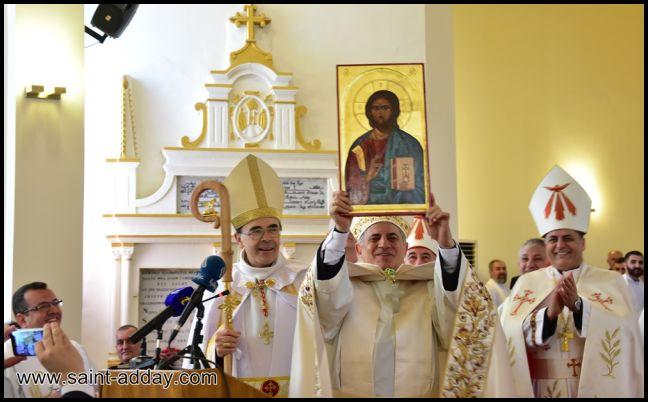 رسامة مطرانين جديدين للكنيسة الكلدانية 078