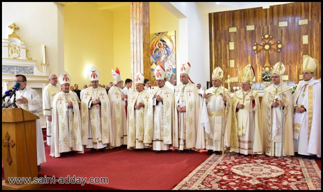 رسامة مطرانين جديدين للكنيسة الكلدانية 079